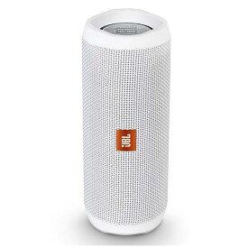 JBL JBLFLIP4WHT ブルートゥース スピーカー ホワイト [Bluetooth対応 /防水][JBLFLIP4WHT]