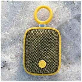 DreamWave ドリームウェーブ BubblePodsYLW ブルートゥース スピーカー イエロー [Bluetooth対応 /防水][BUBBLEPODSYLW]