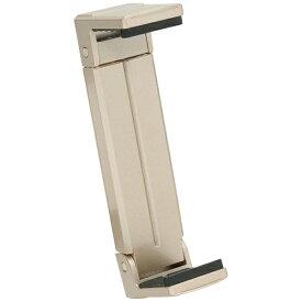 ベルボン Velbon タブレット/iPad対応[固定幅123〜210mm 厚み22mm以内] 三脚用タブレットホルダー「Luvipod(ラビポッド)」 TH1(サンディゴールド)