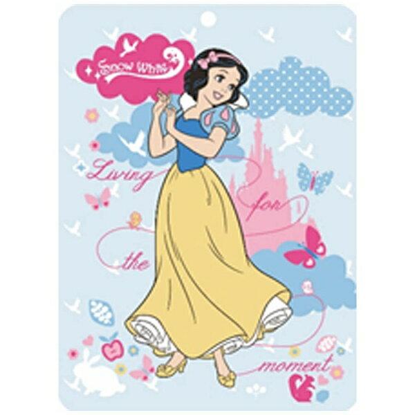 生毛工房 シャーリングタオルケット 白雪姫 シングルサイズ(140×190cm/ブルー)
