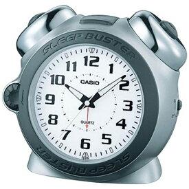 カシオ CASIO 目覚まし時計 Sleep Buster ホワイト TQ-645S-8JF [アナログ][目覚まし時計 大音量]
