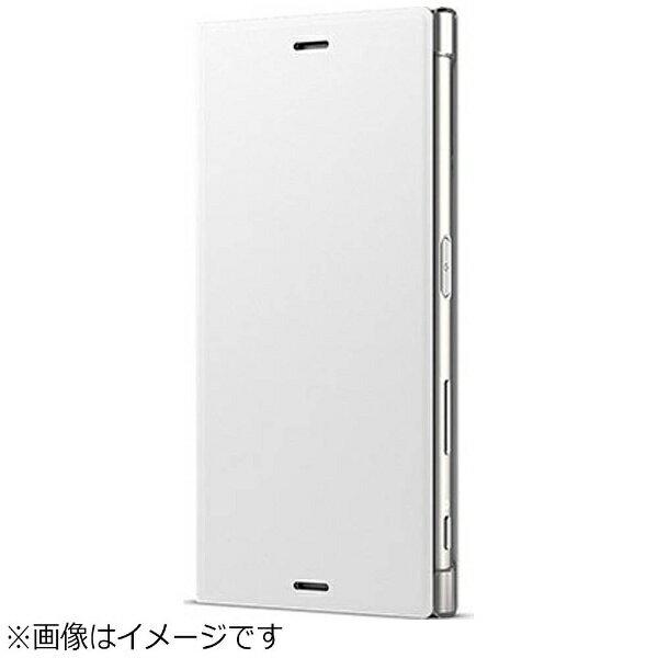 ソニー SONY 【ソニー純正】 Xperia XZs用 手帳型ケース Style Cover Stand ウォームホワイト SCSG20JP/Y