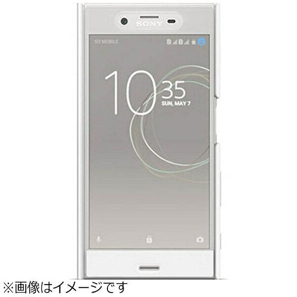 【送料無料】 ソニー SONY 【ソニー純正】 Xperia XZs用 Style Cover Touch ホワイト SCTG20JP/W