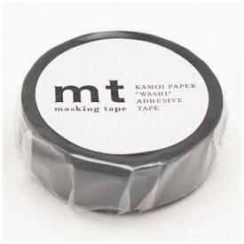 カモ井加工紙 KAMOI mtマスキングテープ 1P(マットグレー) MT01P405