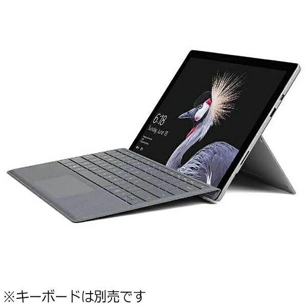 【送料無料】 マイクロソフト キーボード別売「Surface Pro(Core i5/128GB/4GB/ペン非同梱モデル)」 Windowsタブレット[Office付き・12.3型] FJT-00014 (2017年モデル・シルバー)[FJT00014]