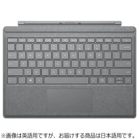 マイクロソフト Microsoft 【純正】 Surface Pro / Surface Pro 4 / Surface Pro 3用 Signature Type Cover プラチナ FFP-00019[FFP00019]