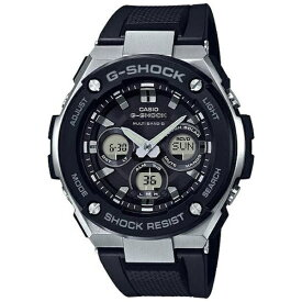 カシオ CASIO G-SHOCK(G-ショック) 「G-STEEL (Gスチール) MULTI BAND 6」 GST-W300-1AJF[GSTW3001AJF]【point_rb】