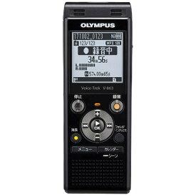 オリンパス OLYMPUS V-863 ICレコーダー Voice-Trek ピアノブラック [8GB][録音機 ボイスレコーダー 小型 高音質 長時間]