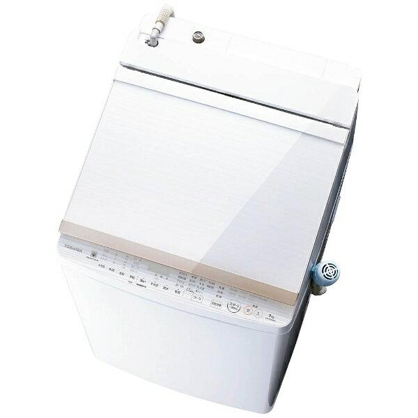 【標準設置費込み】 東芝 TOSHIBA 洗濯乾燥機 (洗濯9.0kg/乾燥5.0kg) AW-9SV6-W グランホワイト 【洗濯槽自動お掃除・ヒーター乾燥機能付】[AW9SV6_W]