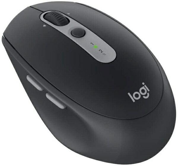 ロジクール ワイヤレスレーザーマウス[Bluetooth/2.4GHz USB・Android/Mac/Win] MULTI-DEVICE サイレントマウス (7ボタン・グラファイトトーナル) M590GT