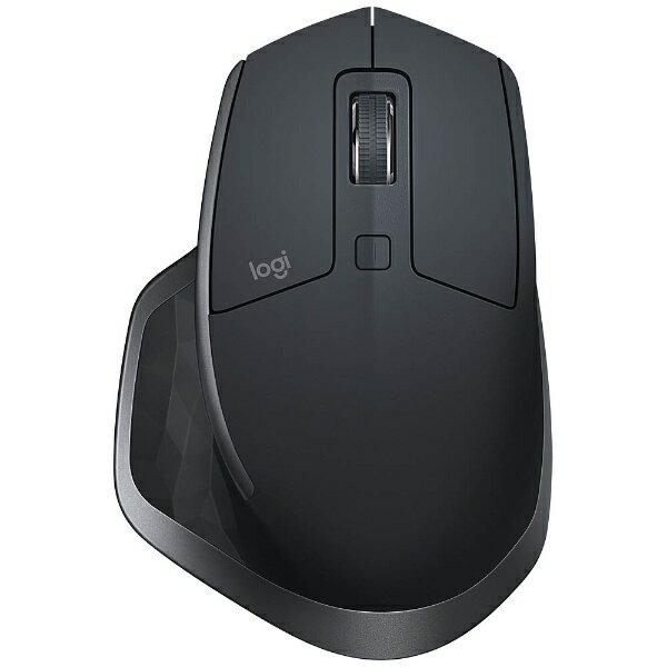 ロジクール ワイヤレスレーザーマウス[Bluetooth/2.4GHz USB・Mac/Win] MX MASTER 2S (7ボタン・グラファイト) MX2100sGR[MX2100SGR]