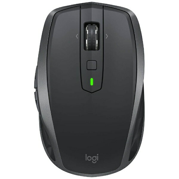 ロジクール ワイヤレスレーザーマウス[Bluetooth/2.4GHz USB・Mac/Win] MX ANYWHERE 2S (7ボタン・グラファイト) MX1600sGR[MX1600SGR]
