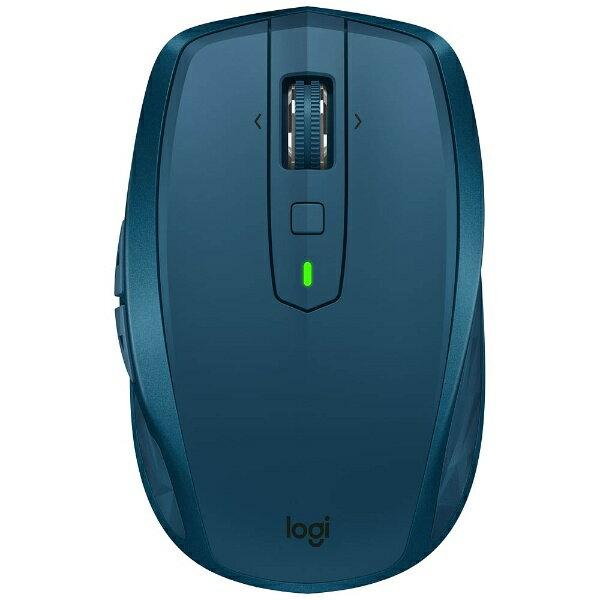 ロジクール ワイヤレスレーザーマウス[Bluetooth/2.4GHz USB・Mac/Win] MX ANYWHERE 2S (7ボタン・ミッドナイトティール) MX1600sMT[MX1600SMT]