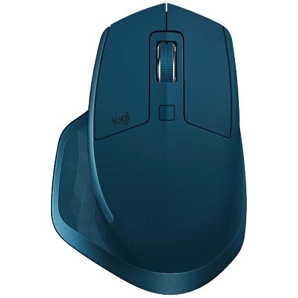 【送料無料】 ロジクール ワイヤレスレーザーマウス[Bluetooth/2.4GHz USB・Mac/Win] MX MASTER 2S (7ボタン・ミッドナイトティール) MX2100sMT