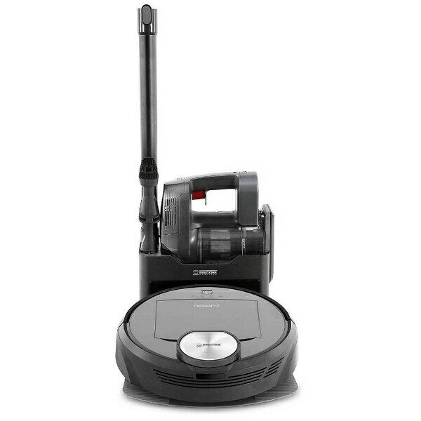 【送料無料】 エコバックス ハンディ掃除機搭載ロボット掃除機 「DEEBOT」 DR98 チタンブラック