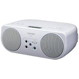 東芝 TOSHIBA CDラジオ TY-C200 ホワイト [ワイドFM対応][TYC200W]
