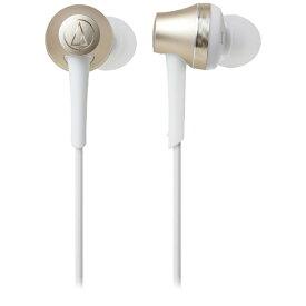 オーディオテクニカ audio-technica bluetooth イヤホン カナル型 CG シャンパンゴールド ATH-CKR75BT [リモコン・マイク対応 /ワイヤレス(左右コード) /Bluetooth][ATHCKR75BTCG]