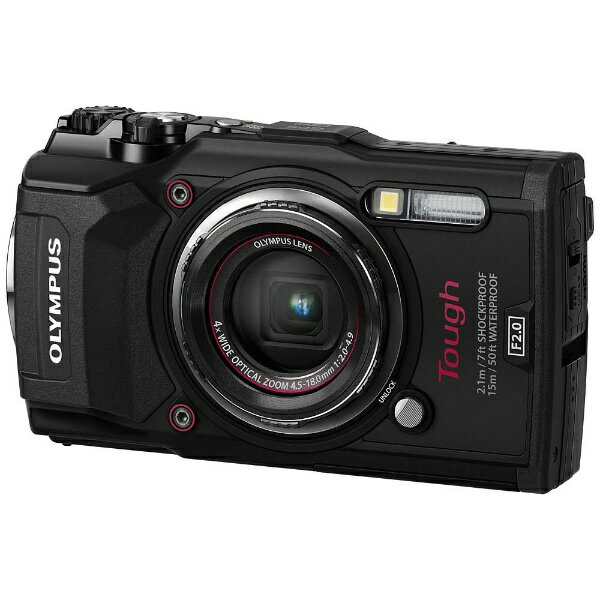 【送料無料】 オリンパス 防水コンパクトデジタルカメラ Tough(タフ) TG-5(ブラック)[TG5ブラック]