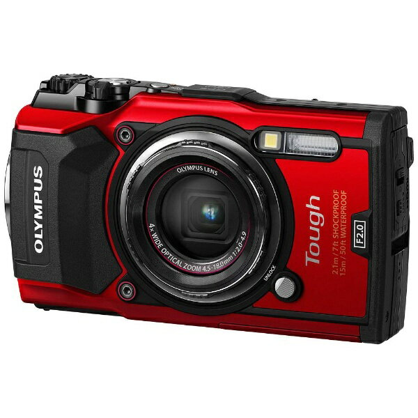 【送料無料】 オリンパス 防水コンパクトデジタルカメラ Tough(タフ) TG-5(レッド)[TG5レッド]