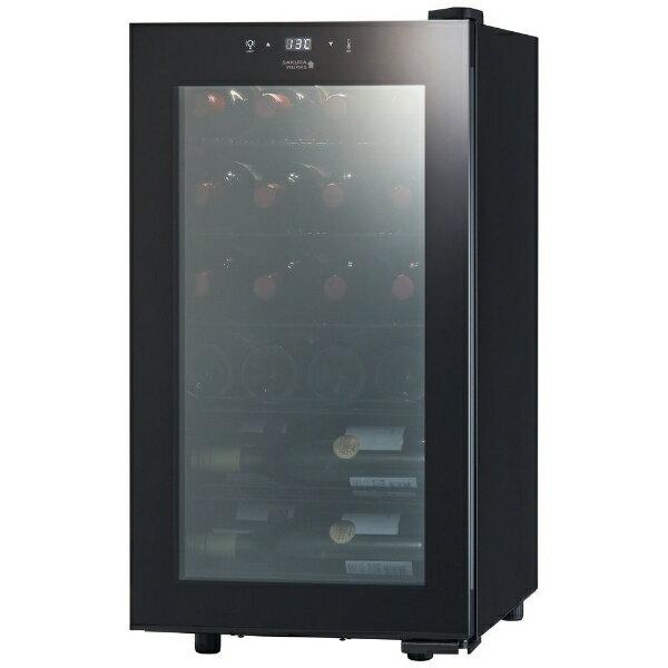 【標準設置費込み】 さくら製作所 ワインセラー 「ZERO CLASS Smart」(22本) SB22 ブラック