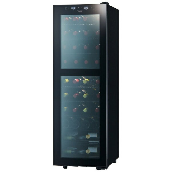 【標準設置費込み】 さくら製作所 ワインセラー 「ZERO CLASS Smart」(38本) SB38 ブラック