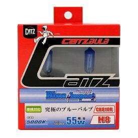アサヒライズ CATZ ヘッドライト・フォグ用 ブルーインパクト2 CB810R
