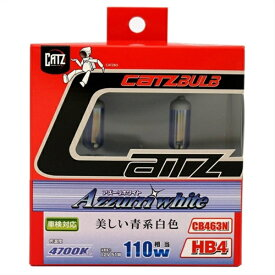 アサヒライズ CATZ ヘッドライト・フォグ用 アズーリホワイト CB463N