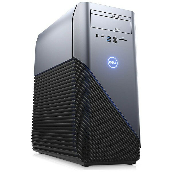 DELL デル DG50VR-7NLPP ゲーミングデスクトップパソコン Inspiron Gaming リーコンブルー [モニター無し /HDD:1TB /SSD:256GB /メモリ:8GB /2017年夏][DG50VR7NLPP]