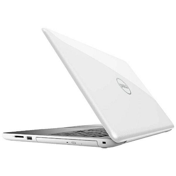 【送料無料】 DELL 15.6型ノートPC [Office付き・Win10 Home・AMD A6-9200・HDD 500GB・メモリ 4GB] Inspiron 15 5000 5565 (ホワイト) NI25-7NHBW (2017年夏モデル)[NI257NHBW]