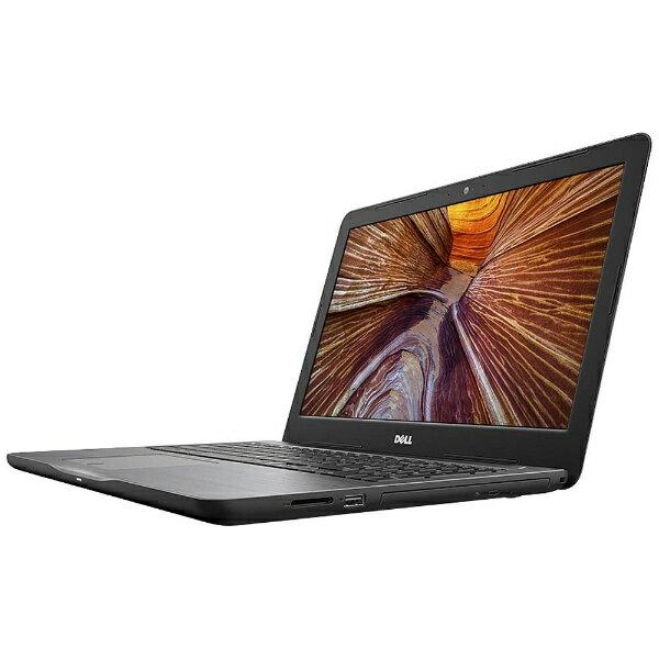 【送料無料】 DELL 15.6型ノートPC [Office付き・Win10 Home・AMD A6-9200・HDD 500GB・メモリ 4GB] Inspiron 15 5000 5565 (ブラック) NI25-7NHBB (2017年夏モデル)[NI257NHBB]
