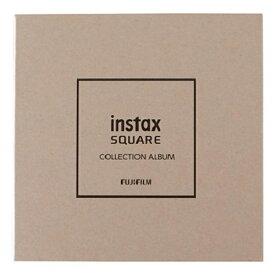 富士フイルム FUJIFILM instax SQ コレクションアルバム(スクエアチェキプリント10枚収納/ホワイト) WH10