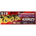 大同工業 DAIDO KOGYO バイク用チェーン カラー:GOLD RJ(クリップタイプ) 420NZ3-120L
