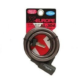 X EUROPE クロスヨーロッパ ワイヤーロック 12mm×1200mm XL-304