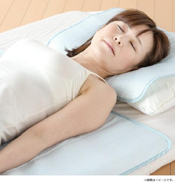 田村駒 【涼感パッド】アイスマックスクールエクストラ ロング ダブルサイズ(140×205cm)