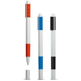 LEGO レゴ LEGO(レゴ) ボールペン3色セット (ボール径:0.7mm) 37503 (赤、黒、青)