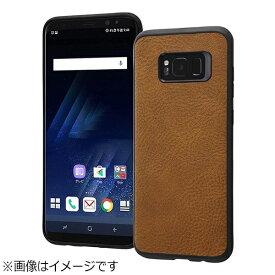 レイアウト rayout Galaxy S8+用 オープンレザーケース スマート ダークブラウン RT-GS8PLC12/DK