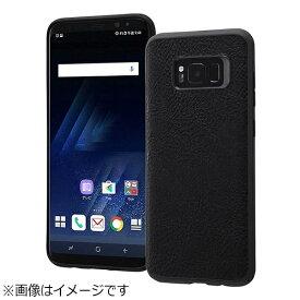 レイアウト rayout Galaxy S8+用 オープンレザーケース スマート ブラック RT-GS8PLC12/B