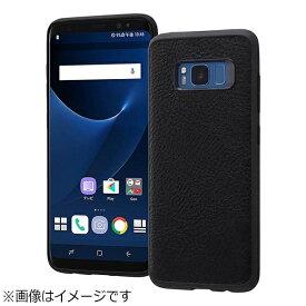レイアウト rayout Galaxy S8用 オープンレザーケース スマート ブラック RT-GS8LC12/B