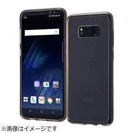 レイアウト rayout Galaxy S8+用 ハイブリッドケース ブラック RT-GS8PCC2/B