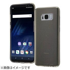 レイアウト rayout Galaxy S8+用 TPUケース コネクタキャップ付き ブラック RT-GS8PTC10/BM