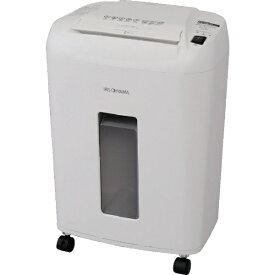 アイリスオーヤマ IRIS OHYAMA OF12M 電動シュレッダー ホワイト [マイクロクロスカット /A4サイズ][OF12M]