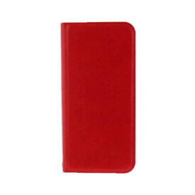 MSソリューションズ Galaxy S8用 手帳型ケース薄型PUレザーケース PRIME レッド LEPLUS LP-GS8LRD