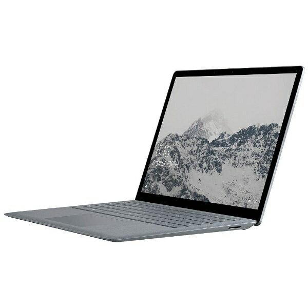 【送料無料】 マイクロソフト Surface Laptop 13.5型タッチ対応ノートPC[Office付き・Windows 10 S・Core i5・SSD 256GB・メモリ 8GB] DAG-00059 (2017年モデル・プラチナ)[DAG00059]