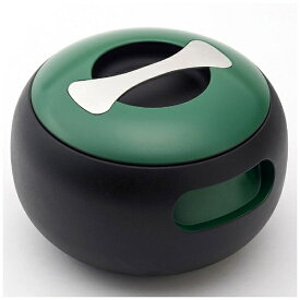 穴織カーボン ANAORI CARBON ≪IH対応≫ カーボン製両手鍋 「POT OVAL」(2.7L) OV001BG ブリティッシュグリーン[OV001BG]