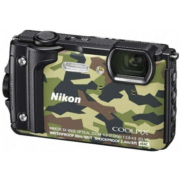 【送料無料】 ニコン 防水コンパクトデジタルカメラ COOLPIX(クールピクス) W300(カムフラージュ)