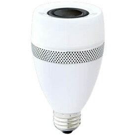 アイリスオーヤマ IRIS OHYAMA LDF11L-G-4S LED電球 スピーカー機能付 ECOHiLUX(エコハイルクス) ホワイト [E26 /電球色 /1個 /40W相当 /一般電球形 /広配光タイプ][LDF11LG4S]