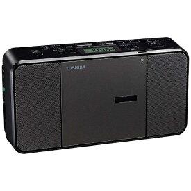 東芝 TOSHIBA 【ビックカメラグループオリジナル】TY-C300BK CDラジオ [ワイドFM対応][TYC300BK]【point_rb】