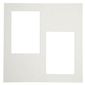 チクマ Chikuma カスタム中台紙 A4 2L2 (ホワイト)