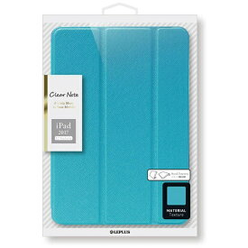 MSソリューションズ 12.9インチiPad Pro / iPad Pro用 背面クリアフラップケース Clear Note ブルー LEPLUS LP-IPP12LCBL[LPIPP12LCBL]