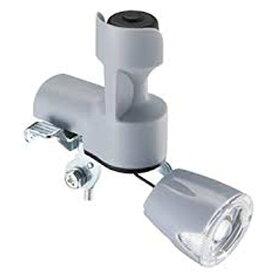 ブリヂストン BRIDGESTONE フロントライト LEDワイドダイナモランプ ヘッダーパック(グレー) BD-L3